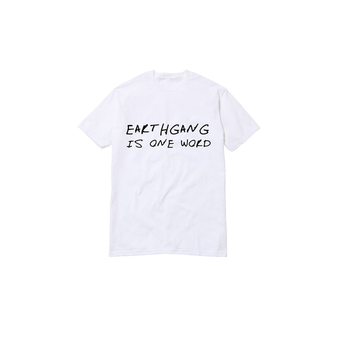 EARTHGANG One Word T-Shirt [White]