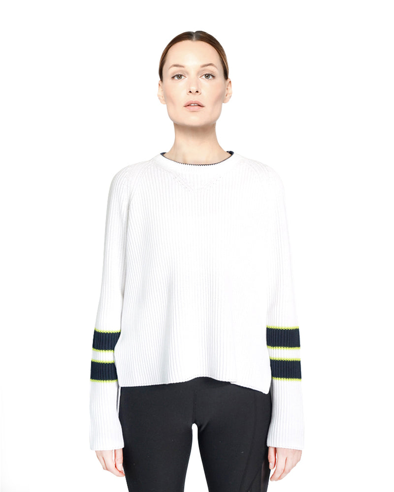 Eliot Sweater White