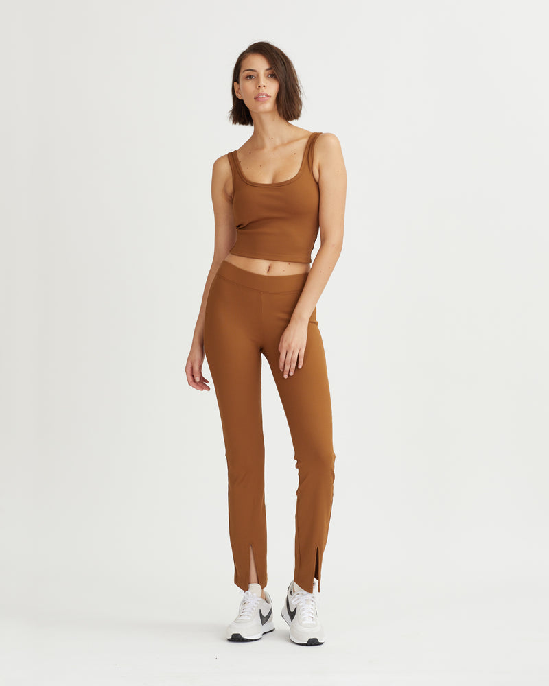 GIGI PANTS WALNUT