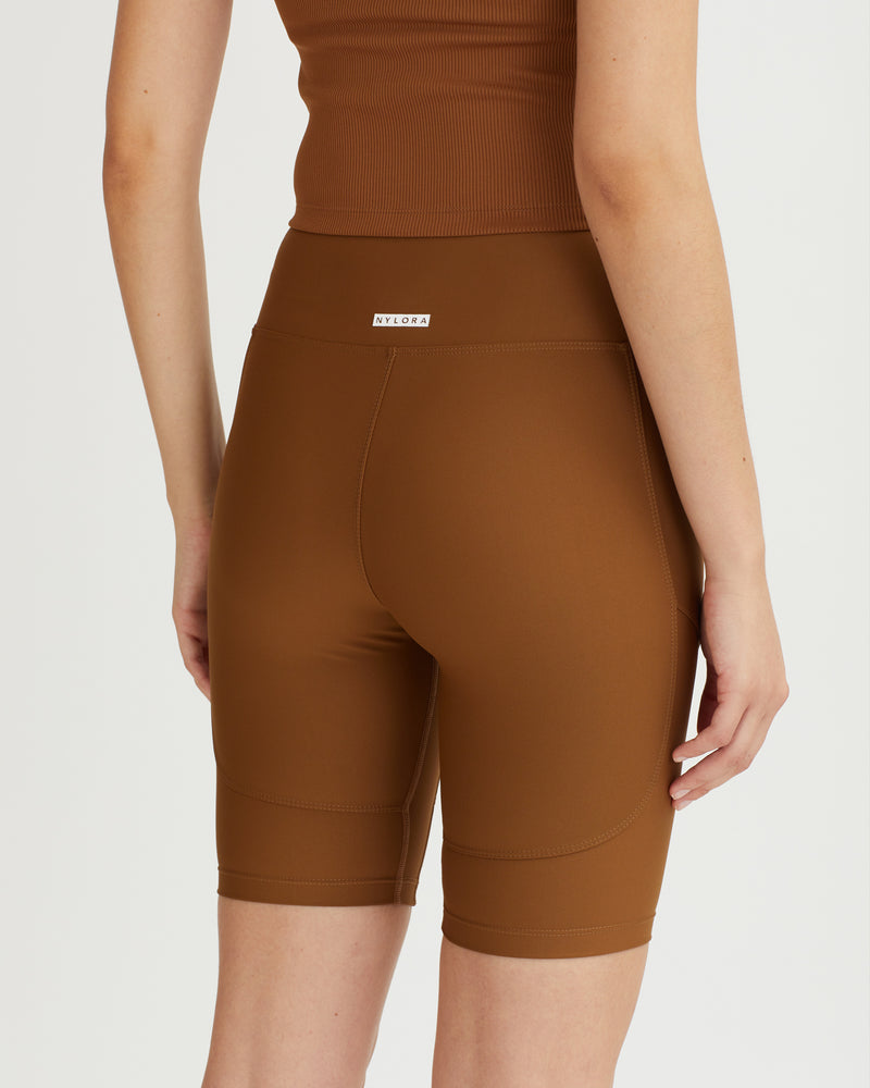 NOLAN SHORTS WALNUT