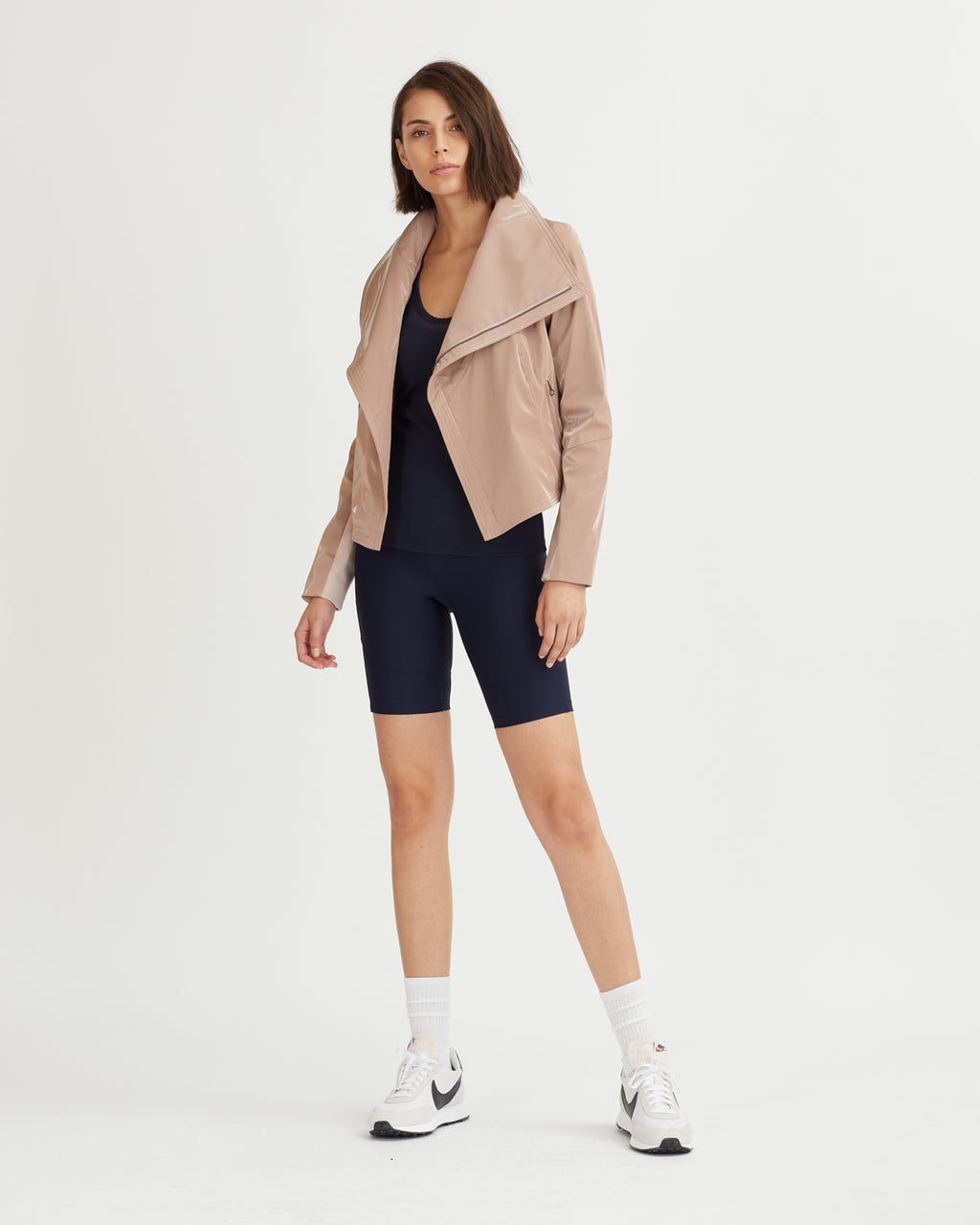 ORMOND JACKET DUSTY PINK