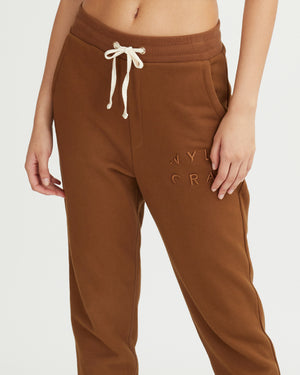 SADE PANTS WALNUT