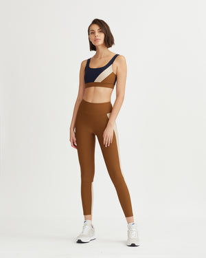 LEVEE LEGGINGS WALNUT&OAT COMBO