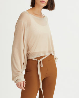 VALERIO TOP BEIGE