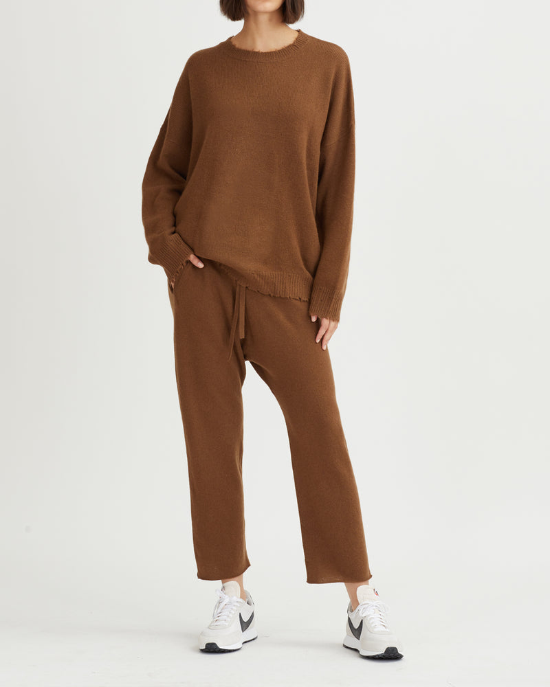 MILO SWEATER WALNUT