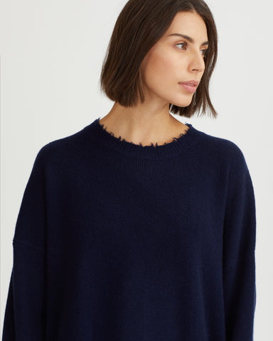 VALERIO TOP NAVY