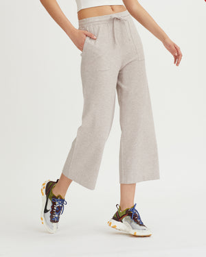 MOND PANTS HEATHER OAT