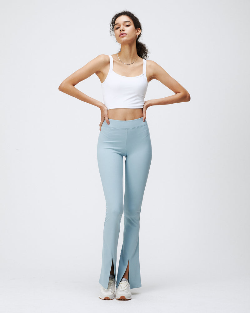 DAMIEN RIBBED PANTS COASTAL