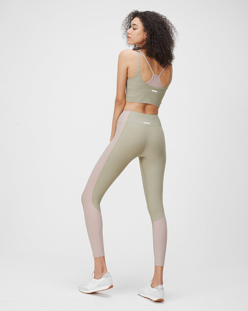 ALEX LEGGINGS SAGE & TERRACOTTA BLUSH COMBO