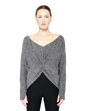 Kendall Top Grey
