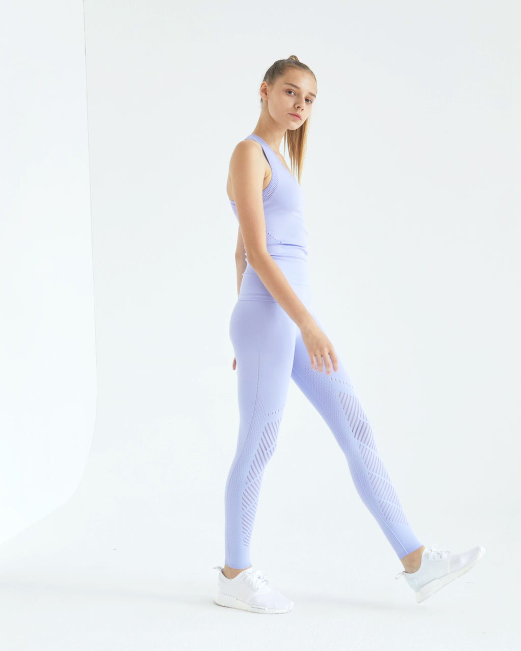Laurel warp Leggings Periwinkle