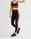 DAMON LEGGINGS BURGUNDY&NAVY COMBO
