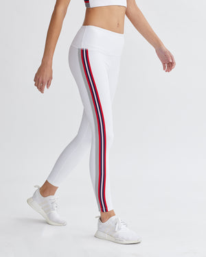 IVAN LEGGINGS WHITE & CHILI COMBO