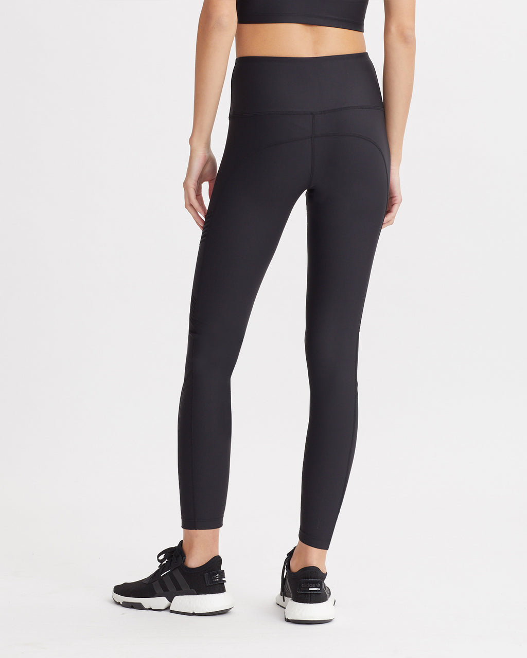 CARLEEN LEGGINGS BLACK & MAUVE COMBO