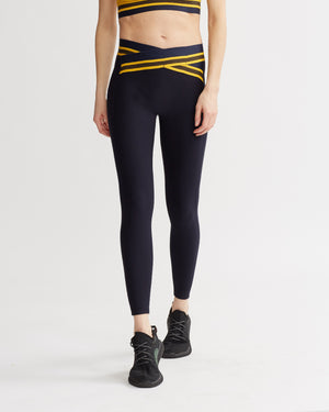 PAZ LEGGINGS NAVY COMBO