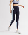 LEVEE LEGGINGS NAVY & IRIDESCENT PALE BLUE COMBO