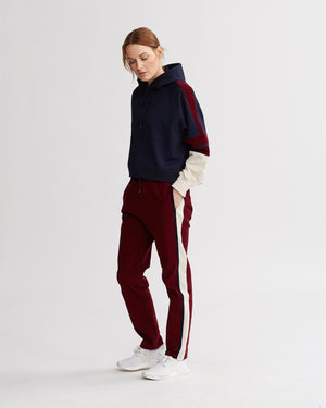 DAYTONA PANTS BURGUNDY COMBO