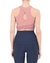 Tessa Tank Navy & Dusty Pink