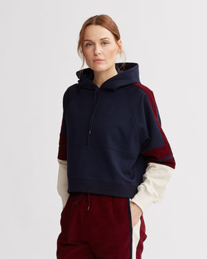 CARSON HOODIE NAVY COMBO