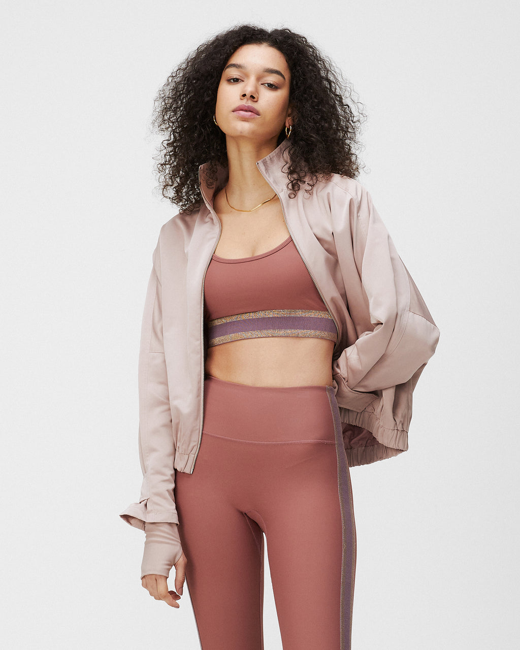 MOLLY JACKET TERRACOTTA BLUSH