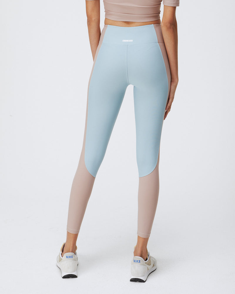 ALEX LEGGINGS COASTAL & TERRACOTTA BLUSH COMBO