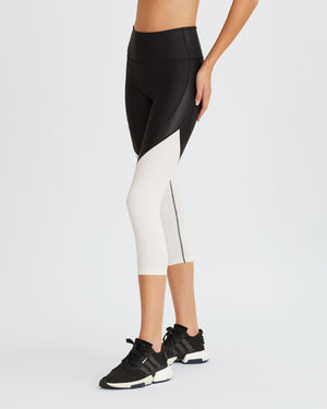 LUCILE LEGGINGS BLACK & WHITE