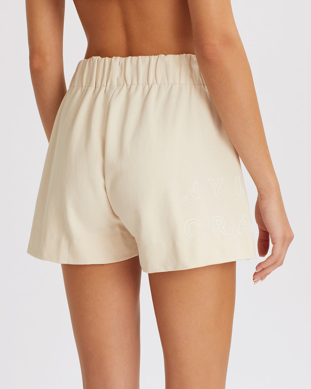 EMMA SHORTS BONE WHITE
