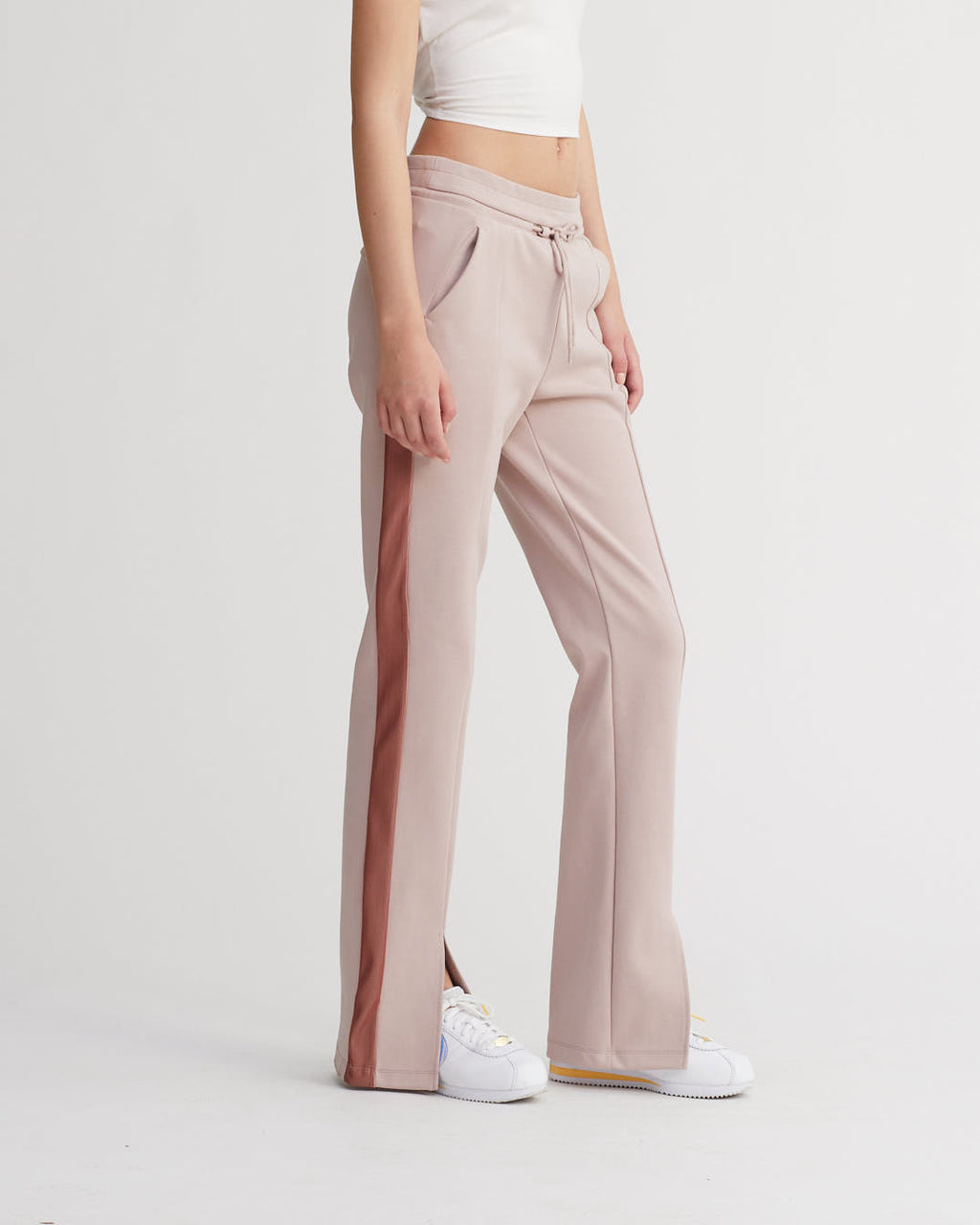 KASSIE PANTS IRIDESCENT SIENNA & PALE ROSE COMBO