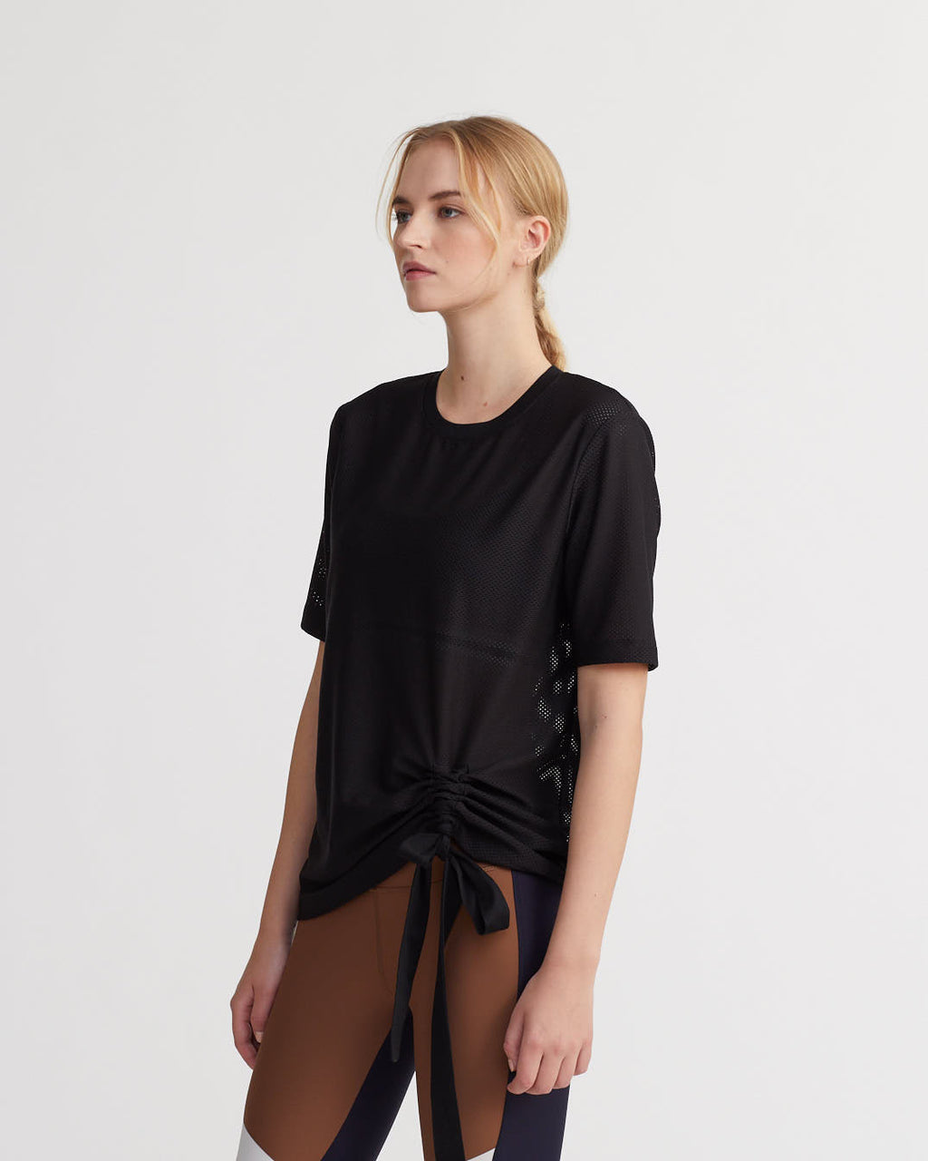 DEFOE TOP BLACK (MESH)