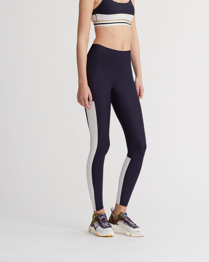 RUMI LEGGINGS FOG & NAVY COMBO