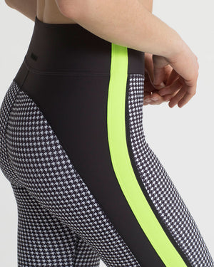 ARDWELL LEGGINGS CHARCOAL & HOUNDSTOOTH COMBO