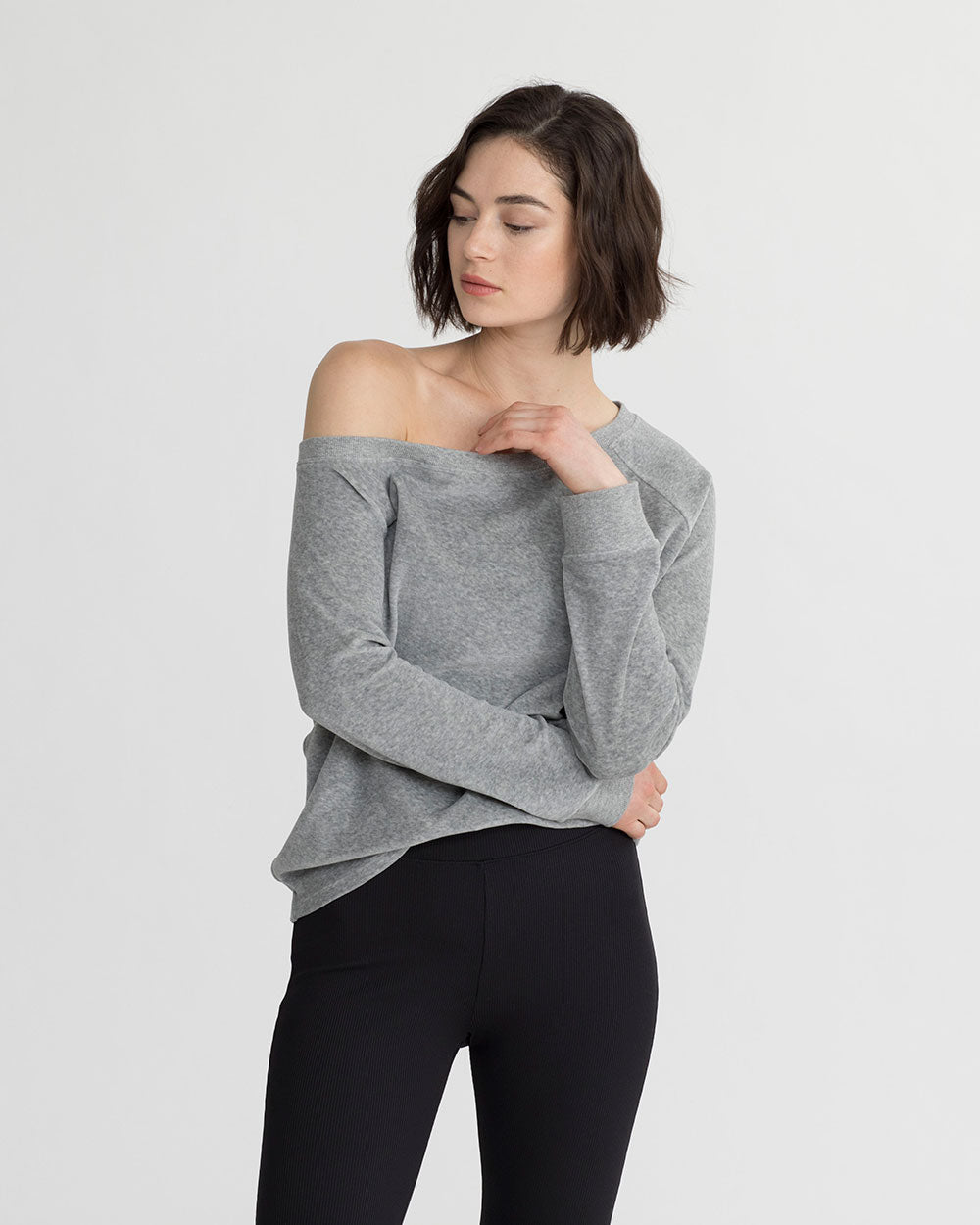 LUCIA TOP HT. GREY