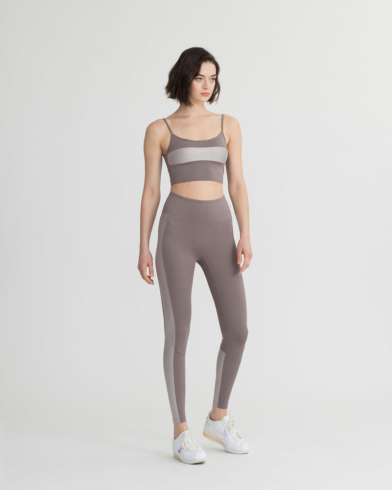 LEVEE LEGGINGS TAUPE & PEARL COMBO