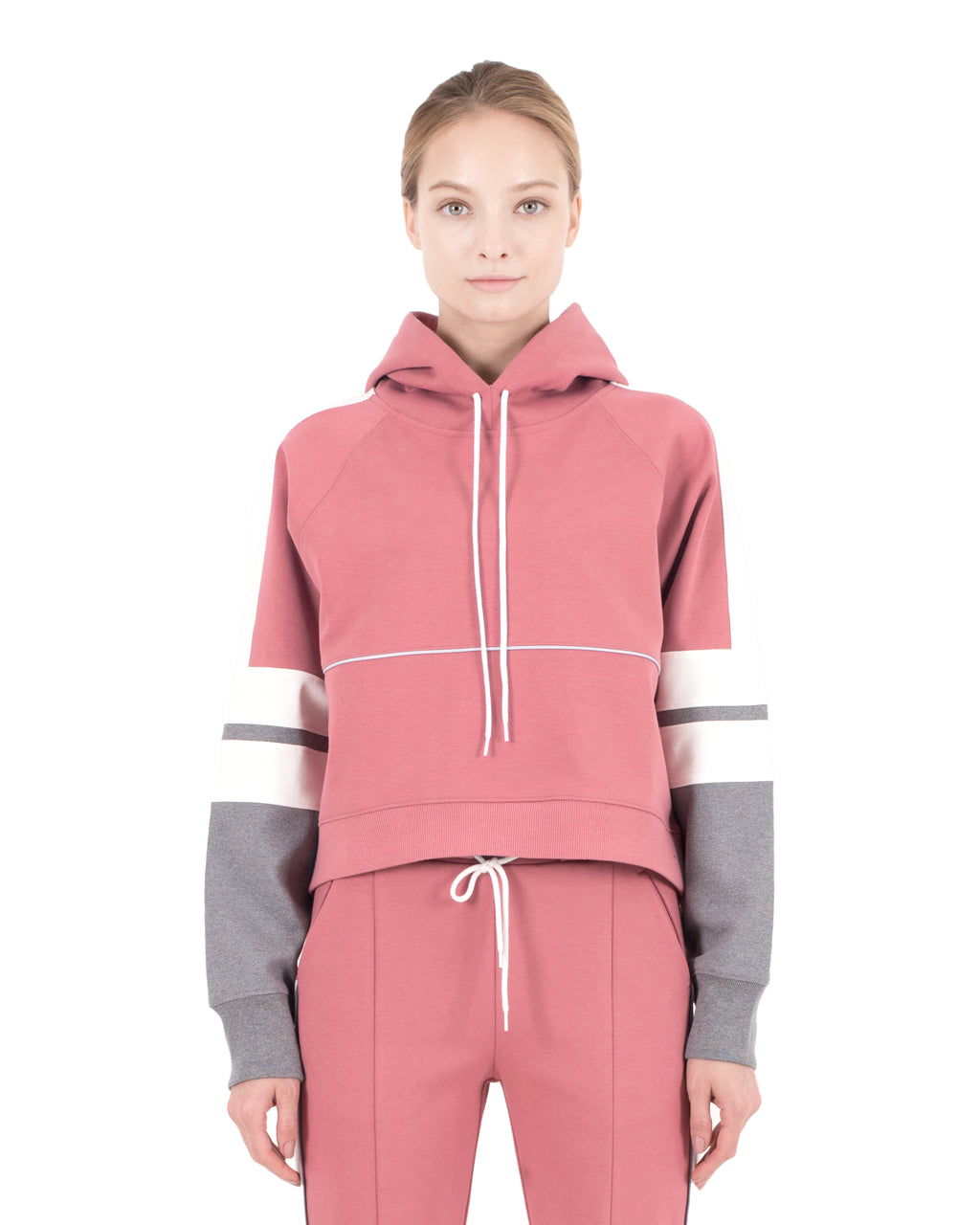 Carson Hoodie Dusty Pink Combo