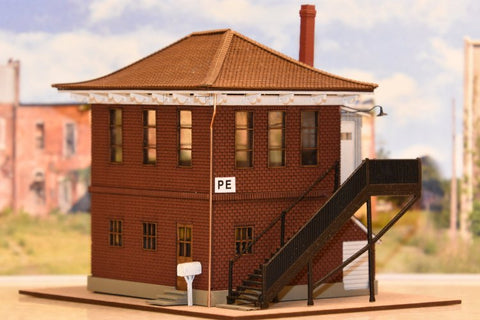 2020 Model of the Year -- Painesville Tower in O, HO or N Scale