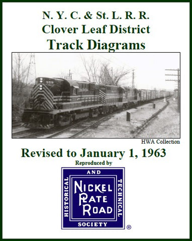 Track Diagrams -- Clover Leaf District, 1942 or 1963