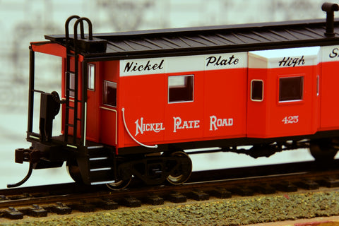 HO Scale Nickel Plate Bay Window Caboose from Bachmann