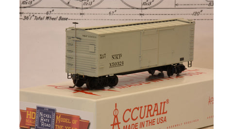 2017 Model of the Year 36-foot MOW Wooden Boxcar