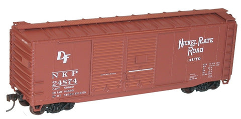 Nickel Plate 40-foot Double-door Boxcar