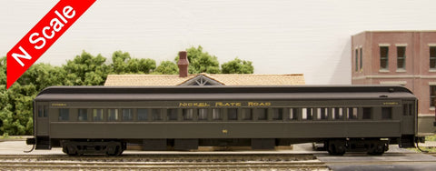 N Scale Single Window Coach for NKP 90 or 60 Series Heavyweight Coaches