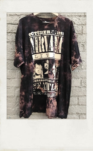 Nirvana Seattle Tour T-shirt