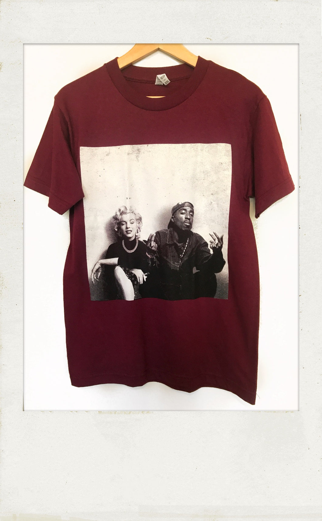 Marilyn & 2Pac Tee Shirt