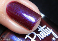 The Crimson Pearl Nail Polish