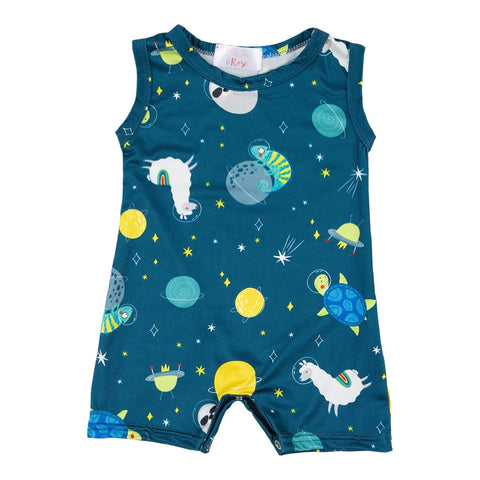 Space Buddies Shorty Romper
