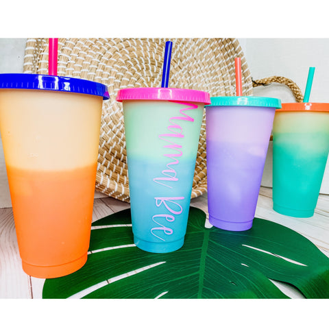 Color Changing Tumbler 24 Oz