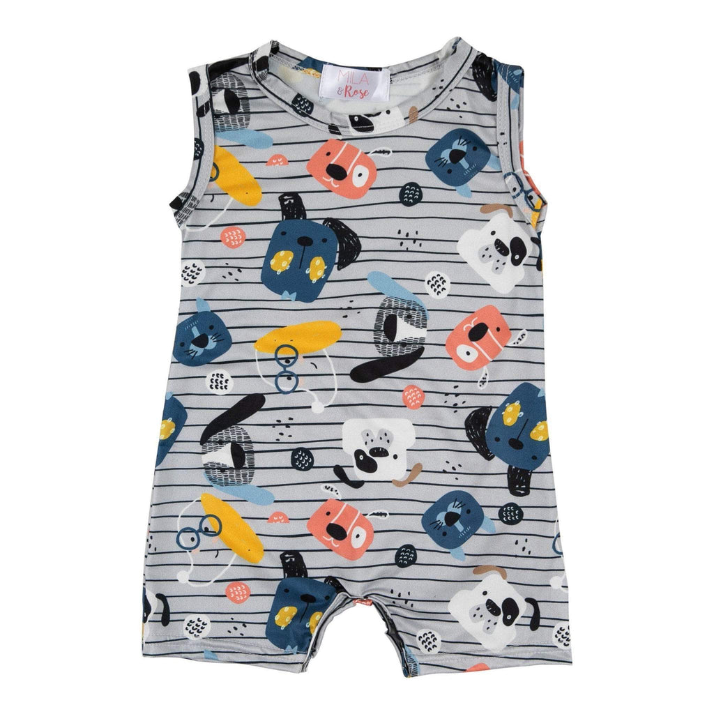 Puppy Pals Shorty Romper