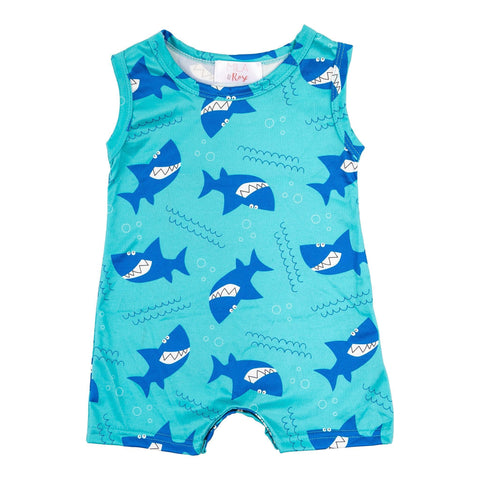 Shark Shorty Romper