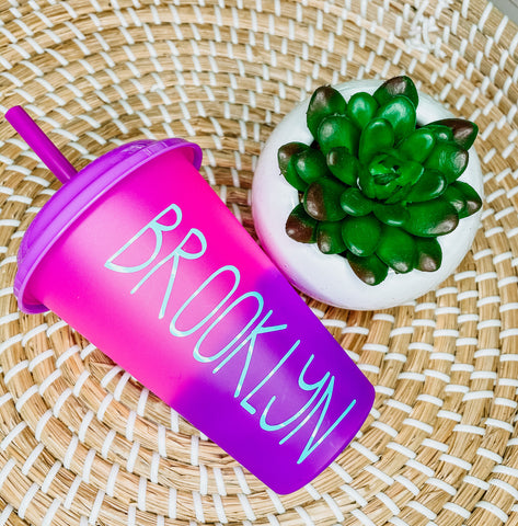Color Changing Tumbler 12 Oz