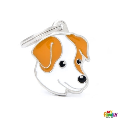 Jack Russel Dog Name Tag