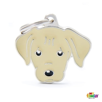 Labrador Dog Name Tag